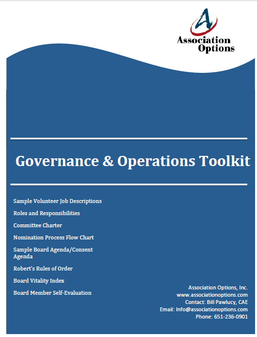 Governance and Operations Toolkit
