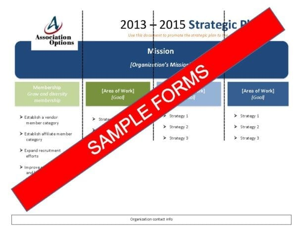 sample forms for non profits
